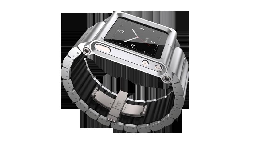 iPod nano als Uhr