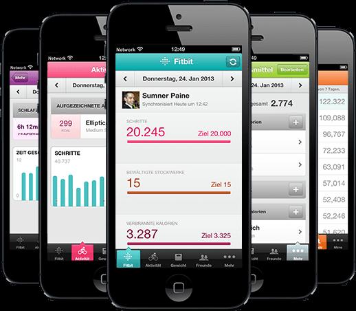 Fitbit Flex Smartphone App