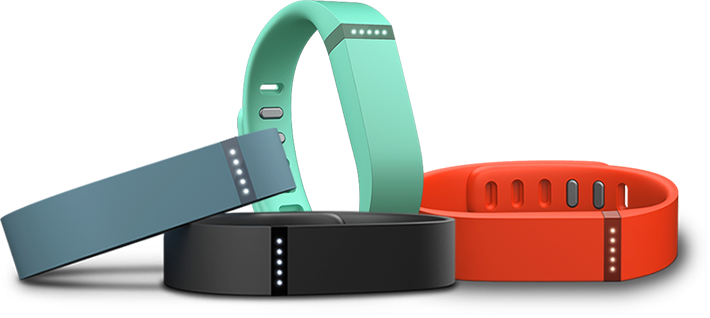 Fitbit Flex Activity Tracker colors