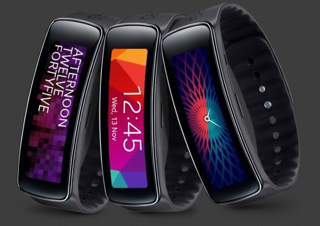 Aktivitäts-Tracker Samsung Gear Fit