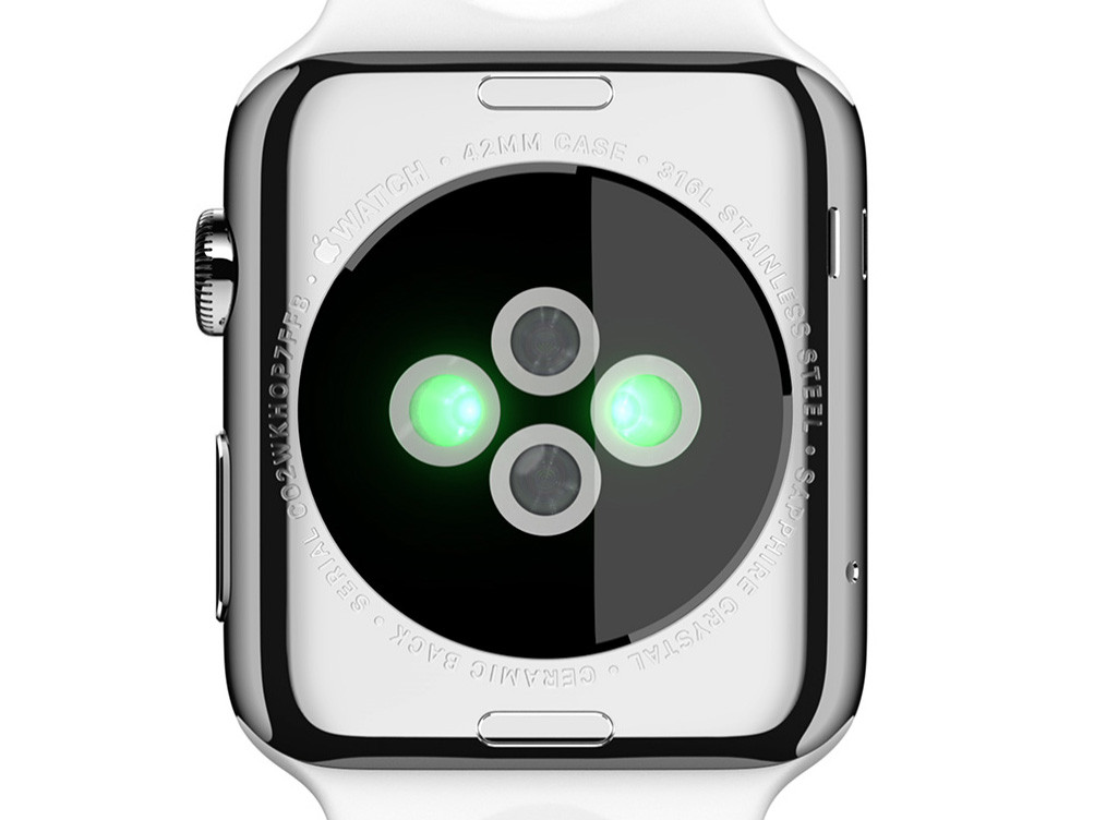 heart rate sensor apple watch