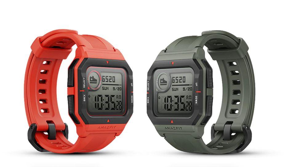 Fitness-Tracker und Retro-Uhr Amafzit Neo